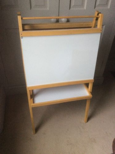 Children's chalk #board white#board #drawing paper #stand,  View more on the LINK: http://www.zeppy.io/product/gb/2/332108465891/