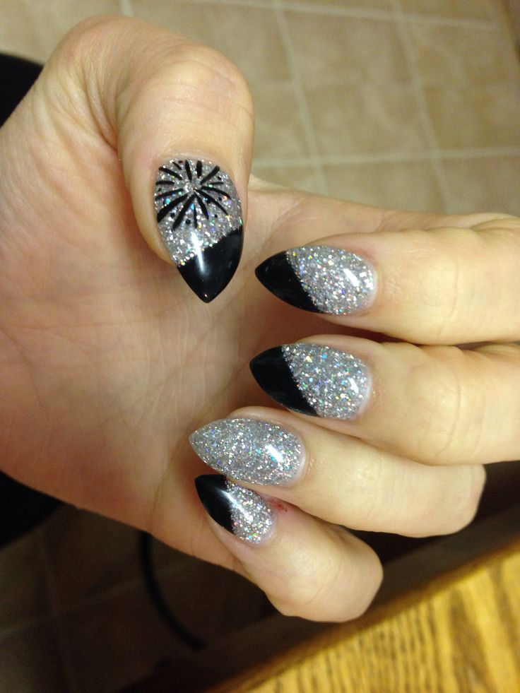 New Nail Polish Trends: 25+ Unique New Year's Nails Ideas On Pinterest