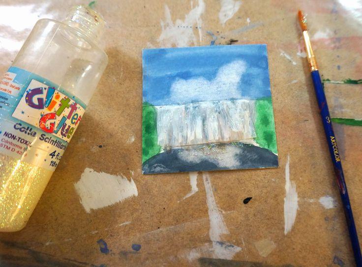 that artist woman: Landscape Inchies Part 2