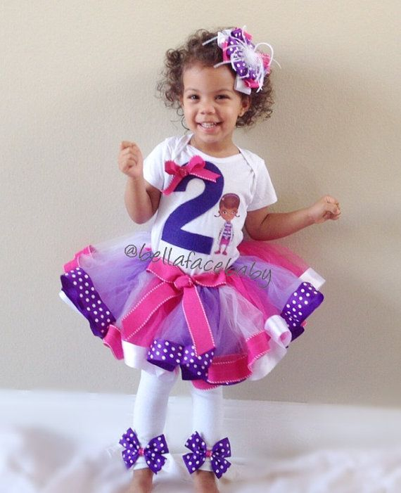 Doc McStuffins Birthday Outfit // Doc McStuffins Tutu Outfit on Etsy, $861.83