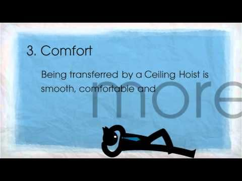 People often wonder what a ceiling hoist is, what it does and why it is needed. In this short video we will look at how the OT200 Ceiling Hoist is used and why it is a critically important piece of equipment in domestic and care environments both for the user and the carers.