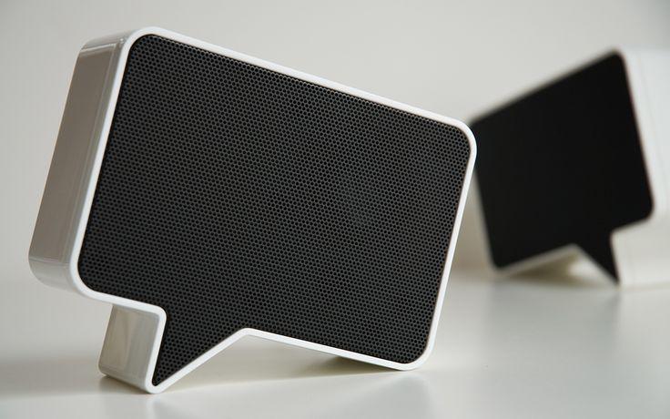 very cool desk speakers