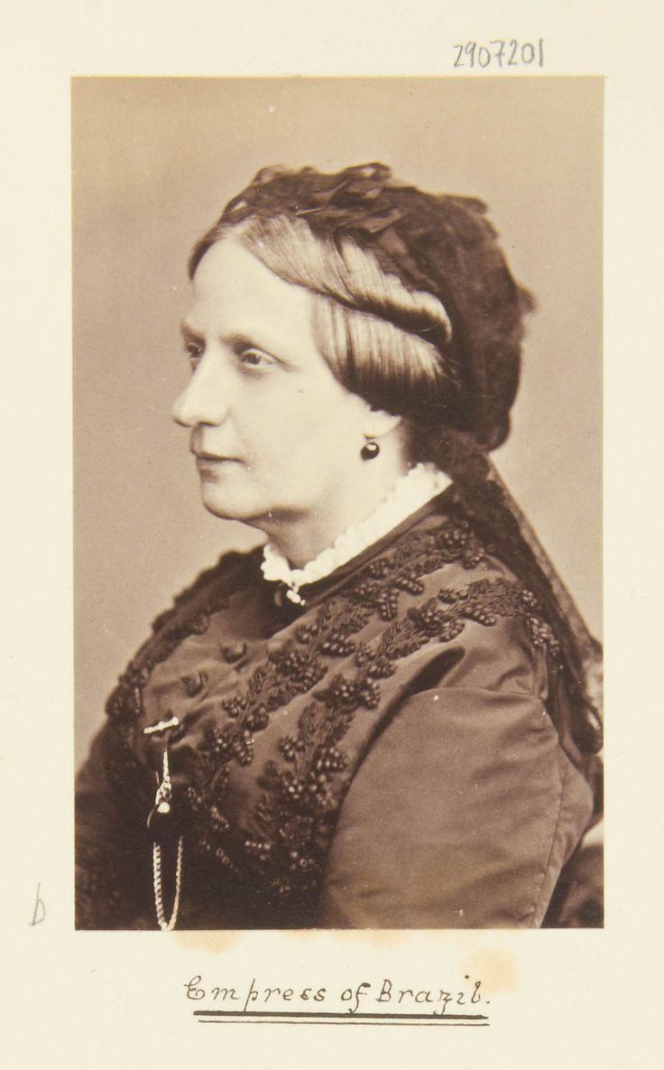 Cristina carlino family - Theresa Christina Of The Two Sicilies Empress Of Brazil 1822 89
