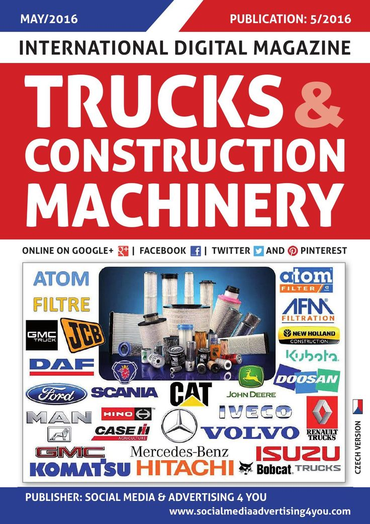 TRUCKS & CONSTRUCTION MACHINERY - May 2016