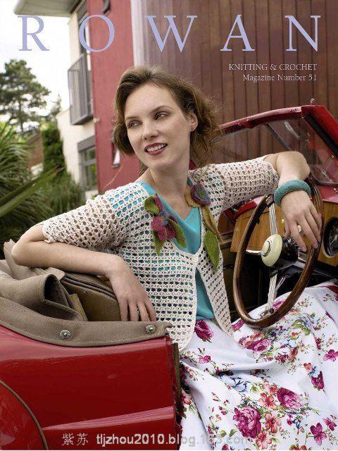 Rowan Knitting №51 2012---春夏女装(1) - 紫苏 - 紫苏的博客