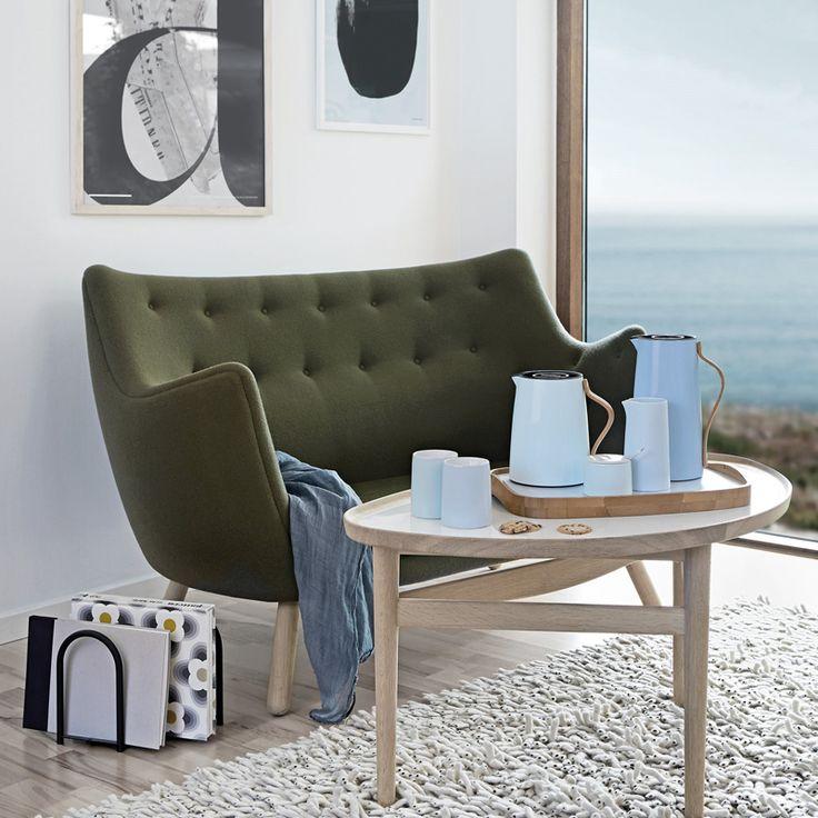 Het complete Emma servies van Stelton staat prachtig op uw tafel tijdens een heerlijk koffie/thee moment.
