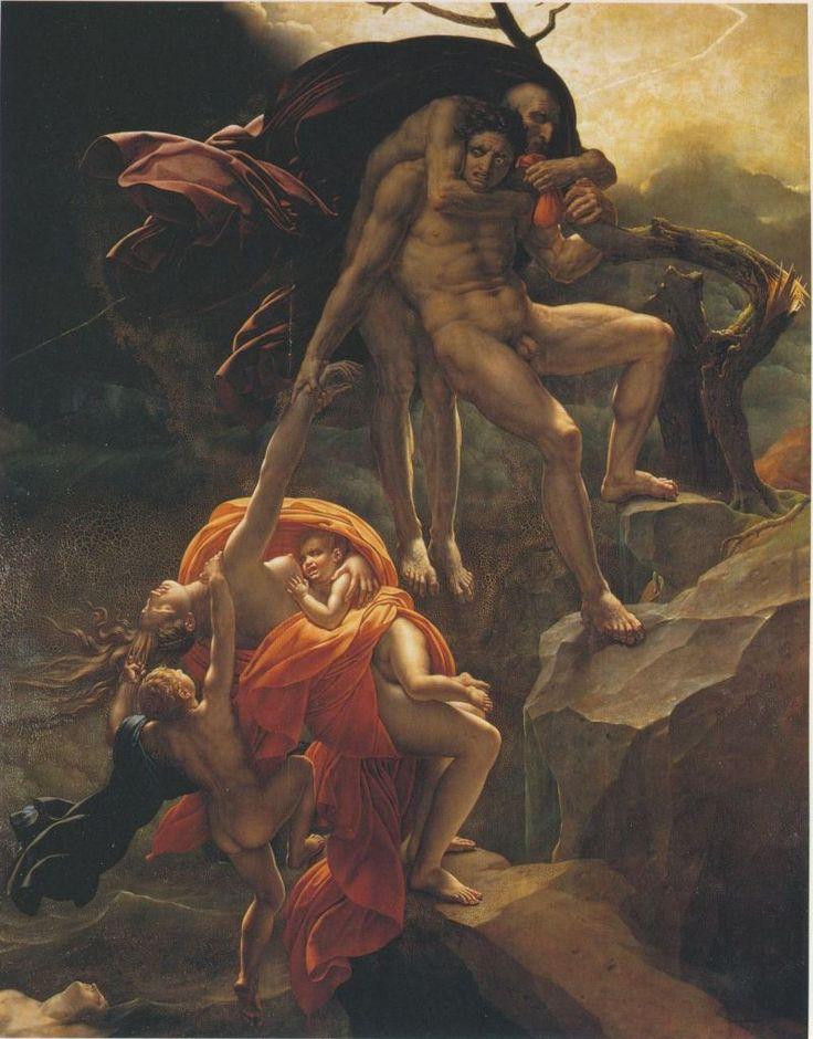 Girodet, Scène de déluge, 1806, Paris, Musée du Louvre
