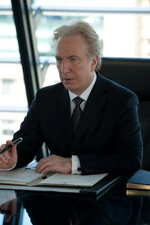 Alan Rickman in Gambit - 2012
