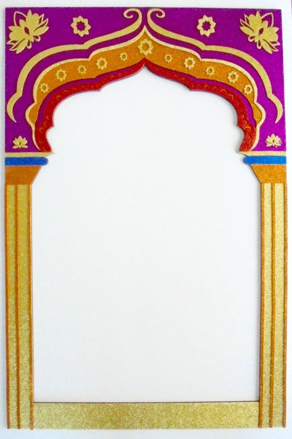 Frame Bollywood party Props Indian by weddingphotobooth on Etsy