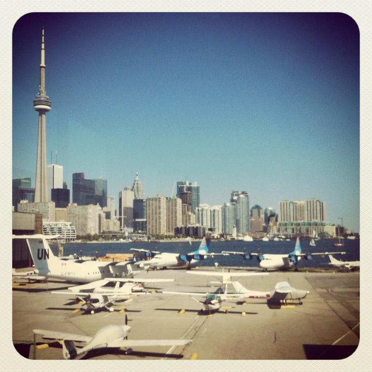 Bulky Bishop Airport. Toronto Island.