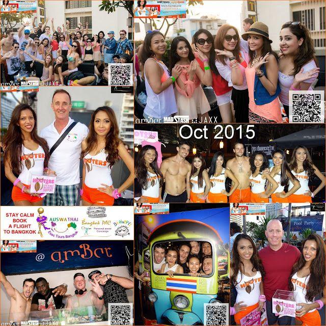 2015.10.17 Amwet Pool Party Hooters Invasion - Bangkok SM Hub