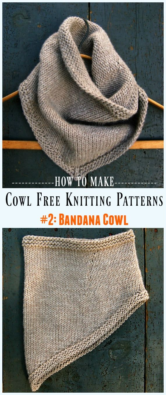Women Cowl Free Knitting Patterns | Crochet and Knitting | Pinterest ...