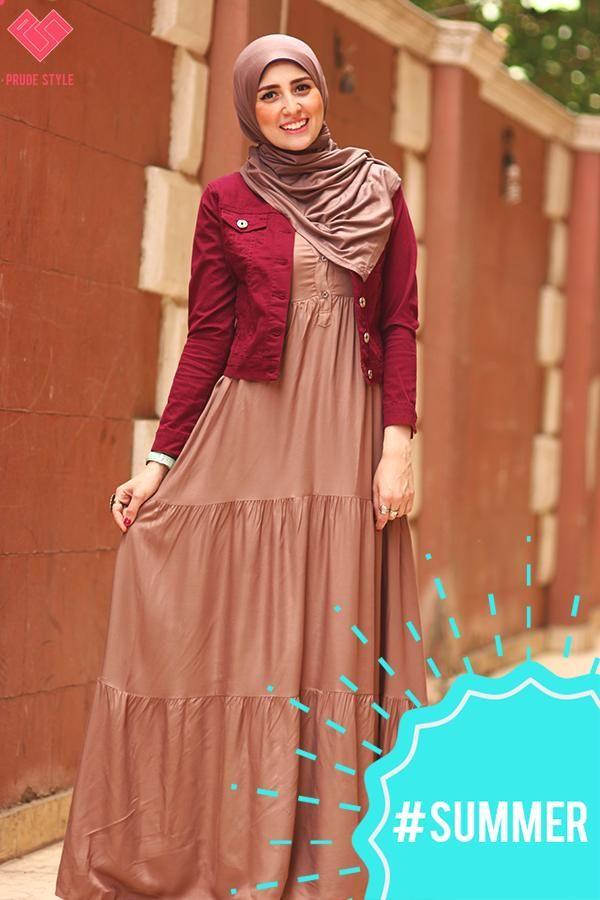 neutral maxi dress hijab fashion- http://www.justtrendygirls.com/prude-hijab-for-spring-2015/