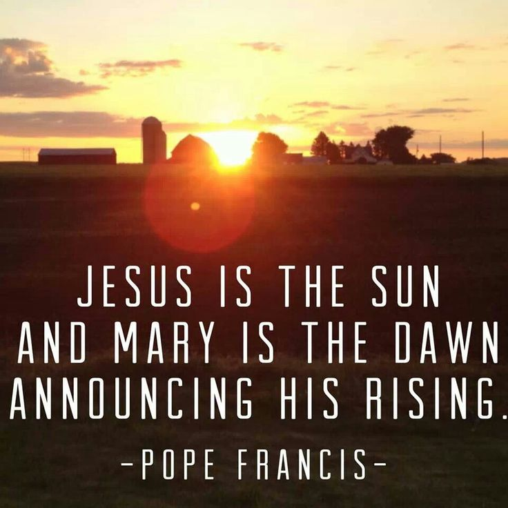 """Loving Jesus isn't easy. So many things distract us from the light of faith Pope Francis alludes to in """"Lumen Fidei."""" It's why we Catholics ask Mary to teach us. Mary is the perfect disciple and type of the Church."""