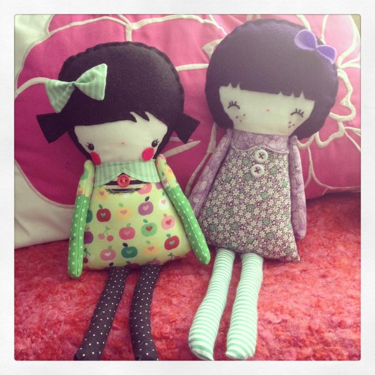 Custom order dolls