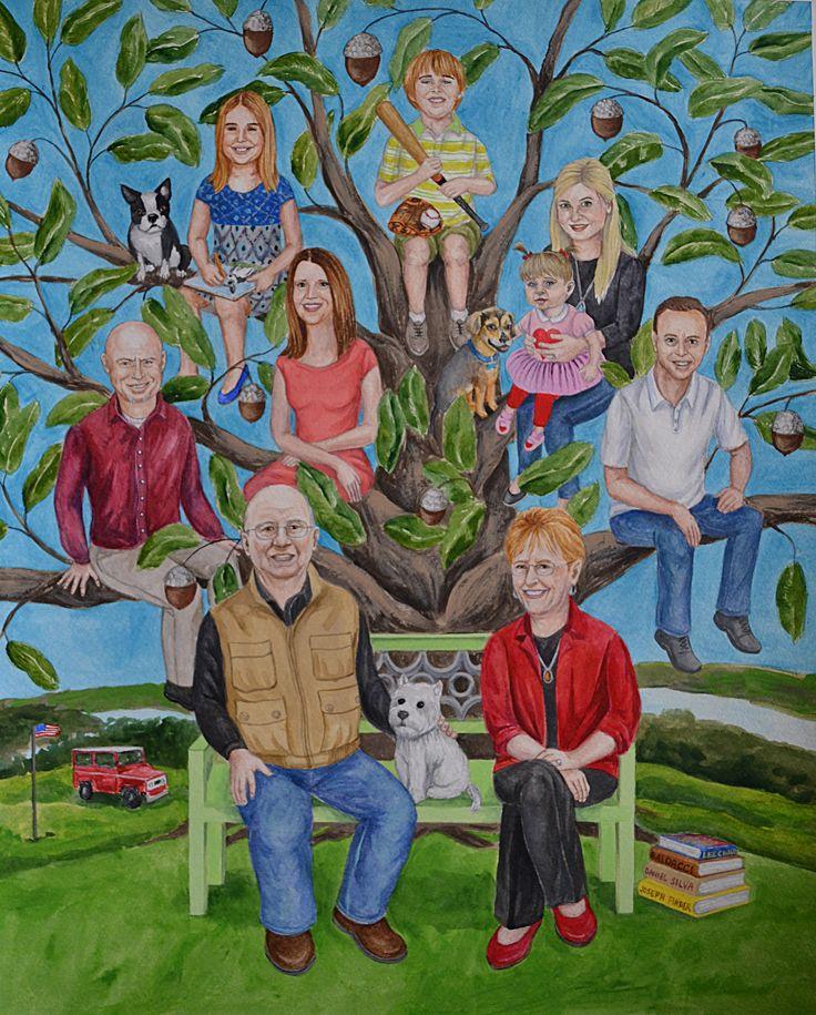 семьи картинки нарисовать большей части