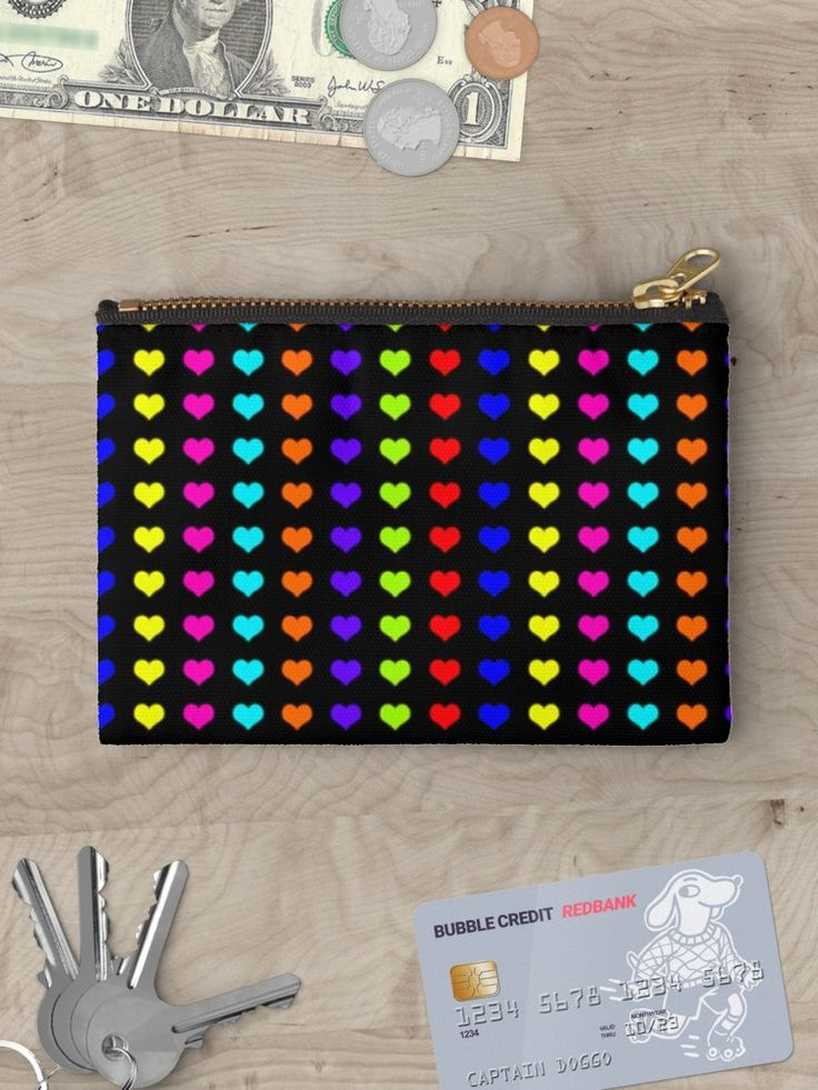 20% OFFsitewide. Use code FIRSTPLACE20. Neon Hearts pouch by Scar Design. #valentinesdaygifts #valentines #valentinesday #pouch #sale #sales #deals #discount #shop #colorful #kids #heart #life #love #living #style #redbubble #teen #kidsgifts #teengifts #love #online #shopping #style #awesome #cool #family #popular #art #design #popart #gifts #giftsforher #fashion #39 #giftideas #moneypouch #wallet