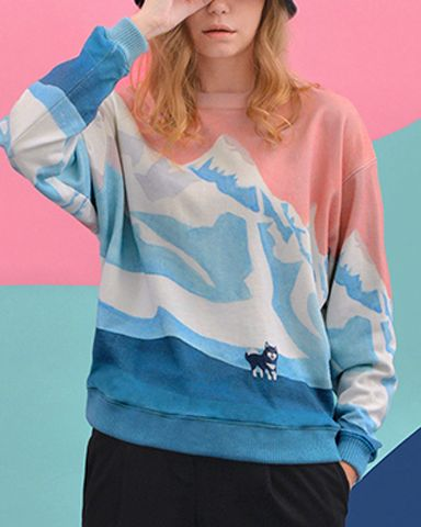 Pre-Order Pink Winter Sweater