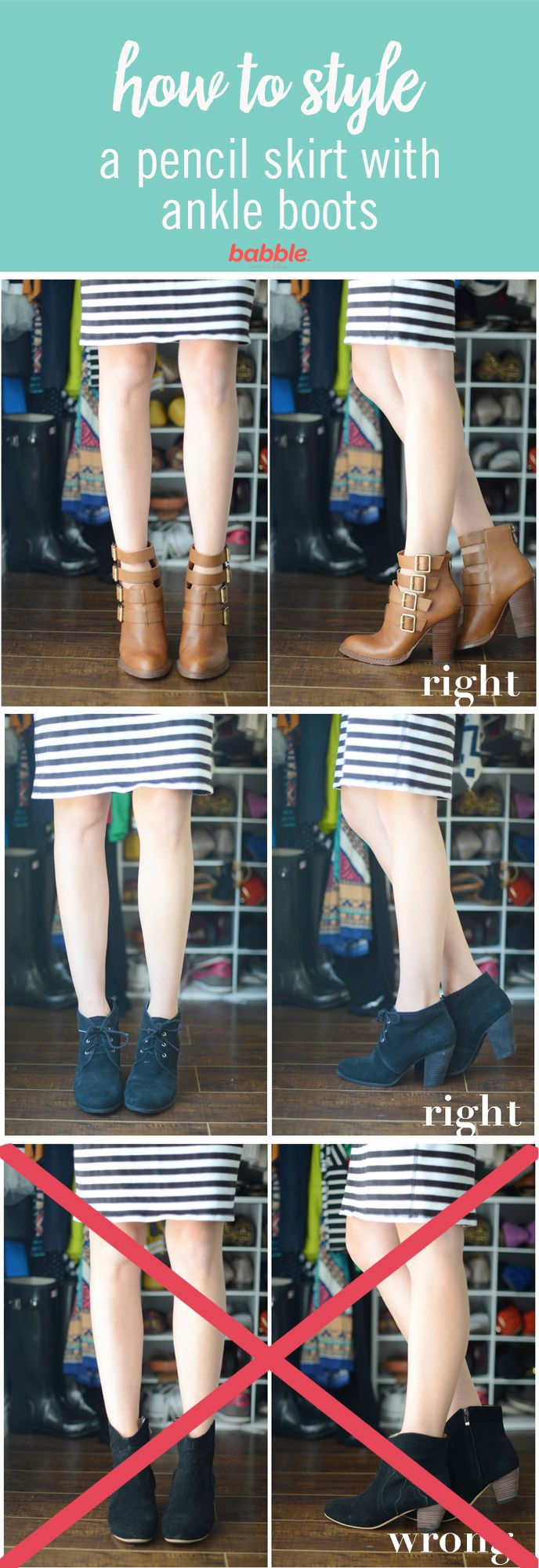 Ankle boots are one of those pieces that can be tricky to style. The most important thing about ankle boots is making sure they flatter your leg line.