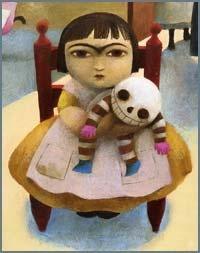 Ana Juan, frida kahlo