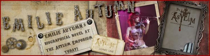 Emilie Autumn: World class violinist, fashion icon.