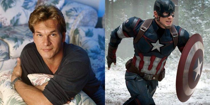 [Toca do Calango]: Como seria o elenco do Universo Cinematográfico da Marvel na década de 1980? Patrick Swayze como Capitão América