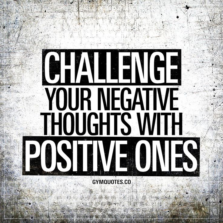 Challenge Sayings Pictures: Best 25+ Negative Thoughts Ideas On Pinterest