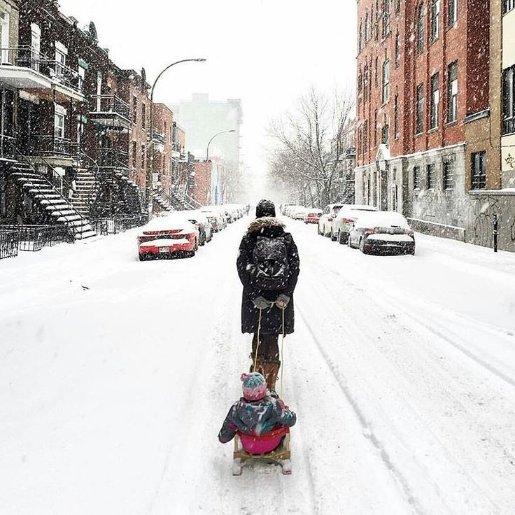 Montrealers woke up to a snowy Monday morning! ❄ Picture by @wrtbrother. #mtlblog #montreal #montréal #quebec #canada #mtl