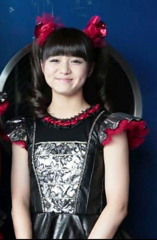 Moa showing off her dimples