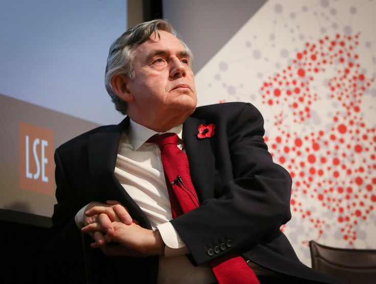 The LSE European Institute and the Dahrendorf Forum lecture entitled Gordon Brown: a life in politics. An event to celebrate the release of his forthcoming memoir, My Life, Our Times. Old Theatre, LSE Old Building on the 8th November 2017.