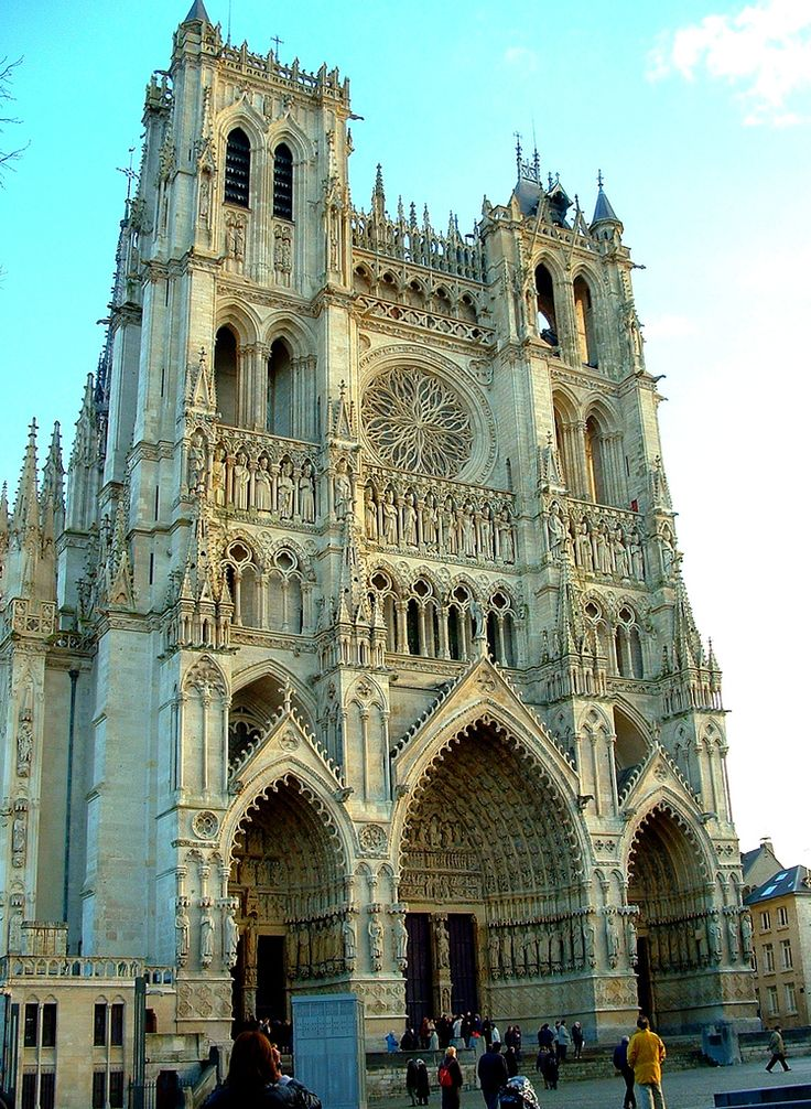 France's most beautiful cathedrals, part four : Notre Dame d'Amiens