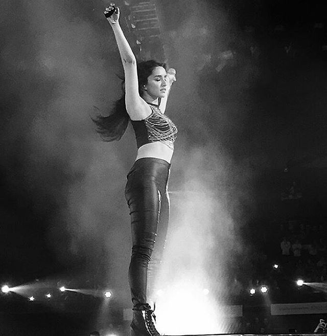 let your Music take control  of ur body,  you've got to feel it in your soul  @ShraddhaKapoor #RockOn2Concert #shraddhakapoor #Bollywood