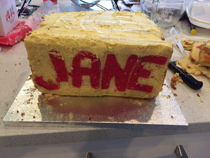 Name in the cake