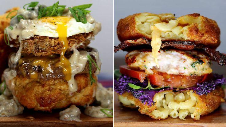 Høye og saftige - blogger lager ekstreme burgere