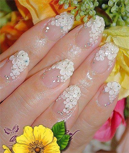 Wedding nails <3