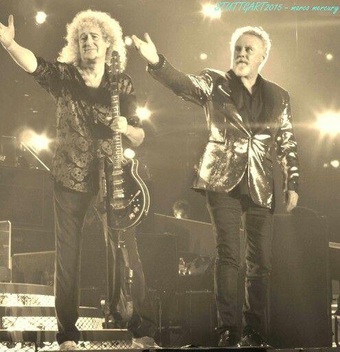Brian and Roger in Stuttgart, Germany 2015.2.13 https://m.facebook.com/FreddieMercury86?refid=13