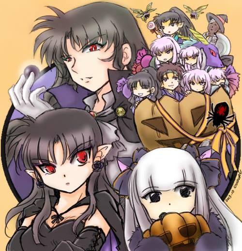 Inuyasha Jakotsu And Naraku: Naraku's Family