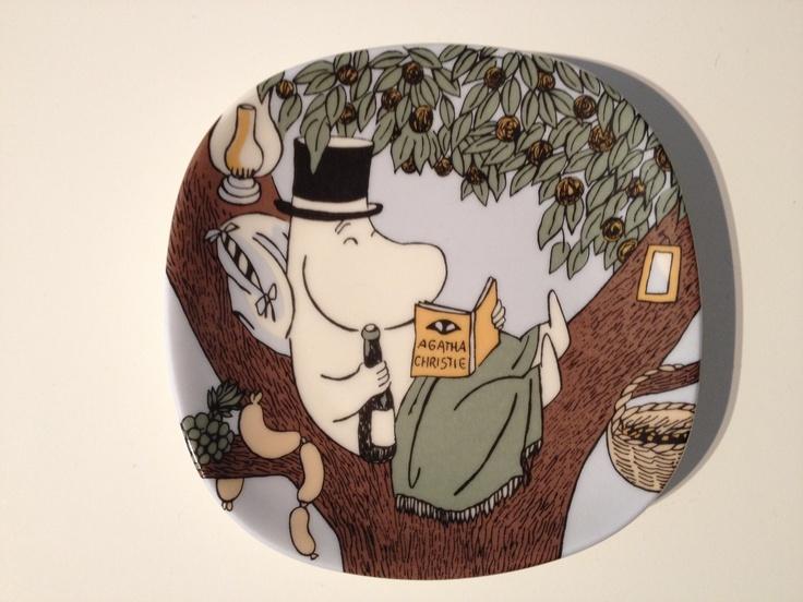My Arabia Finland Moomin plate <3