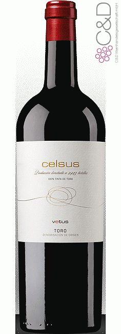 Folgen Sie diesem Link für mehr Details über den Wein: http://www.c-und-d.de/Toro/Celsus-2012-Vetus-Artevino_58139.html?utm_source=58139&utm_medium=Link&utm_campaign=Pinterest&actid=453&refid=43 | #wine #redwine #wein #rotwein #toro #spanien #58139