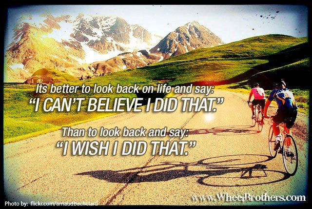 When I Look Back Quotes: Its Better To Look Back On Life And Say: I Can't Believe I