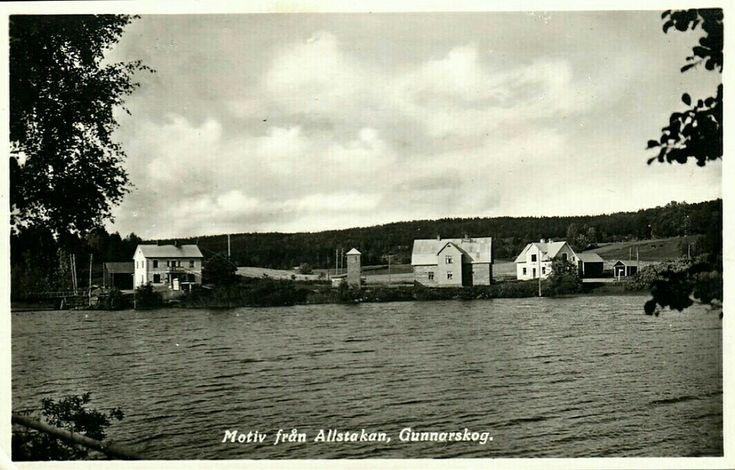 Värmland Arvika kommun Gunnarskog Allstakan 1950-tallet