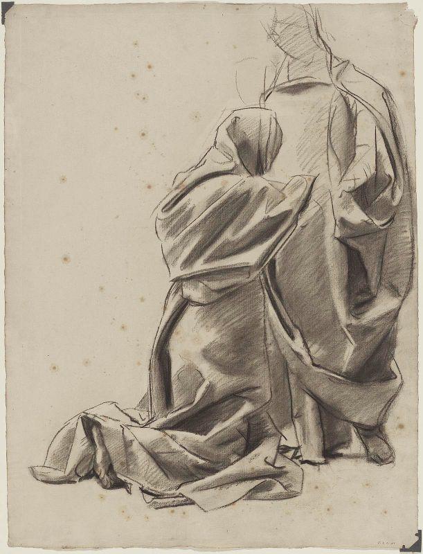 Inspirational Artworks: Sargent Drawings