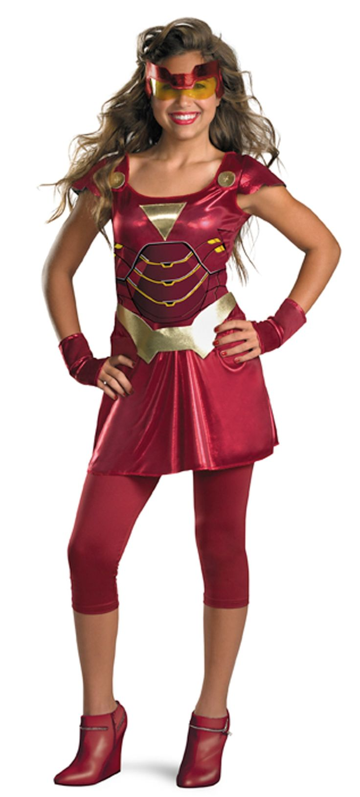 Iron Man 2 (2010) Movie - Iron Girl Tween Costume -Tween (14/16)