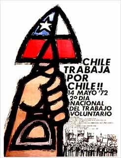 Afiches de la Unidad Popular - CHILE
