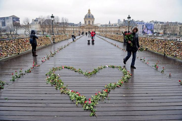 Appealing Love In The Time Of Padlocks Has A Craze On The World39s Bridges With Bridge Love Padlocks In France