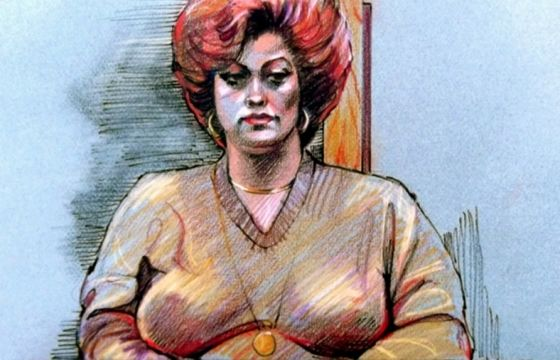 Juxtapoz Magazine - Watch: The Rise and Fall of Courtroom Sketch Artist Gary Myrick