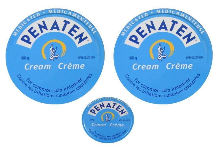 Penaten Medicated Cream 2x 166g(5.86oz) +27g(0.95oz) Diaper Rash Skin Irritation