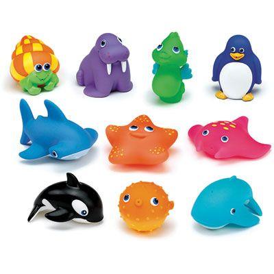 Munchkin Jouet de bain bébé 10 aspergeurs squirtin'sea buddies