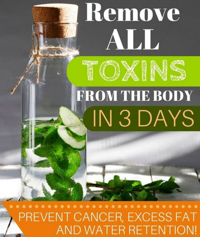 Remove All Toxins from Your Body in Only 3 Days (RECIPE)