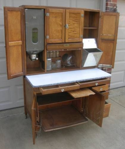 Sellers Kitchen Cabinet: 17 Best Images About Tiny Condo: Seller's Hoosier Cabinet